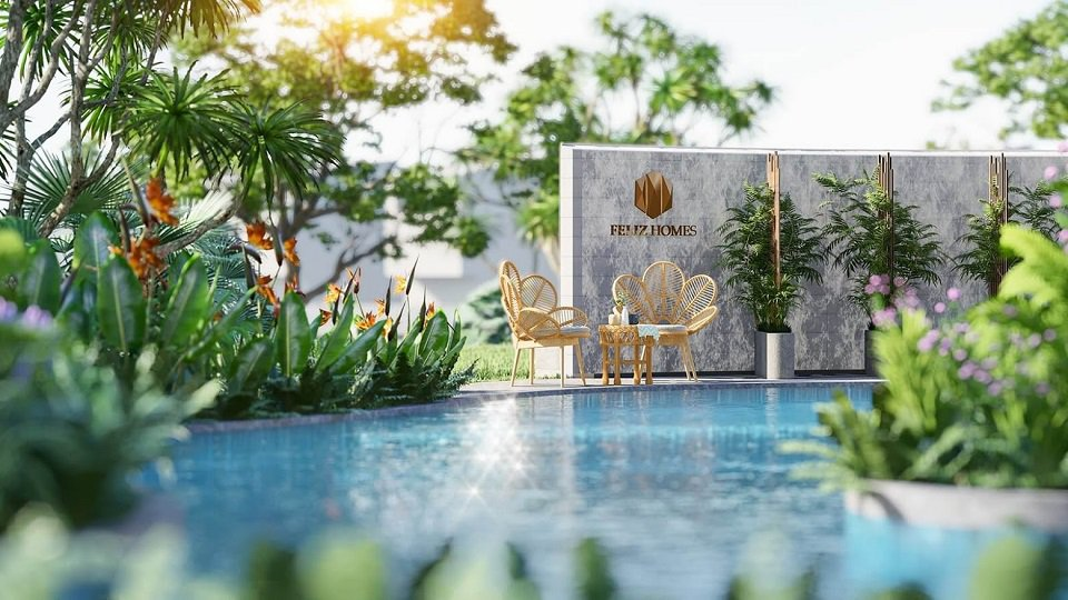 Bể bơi chung cư Feliz Homes